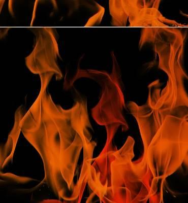 Fire brush