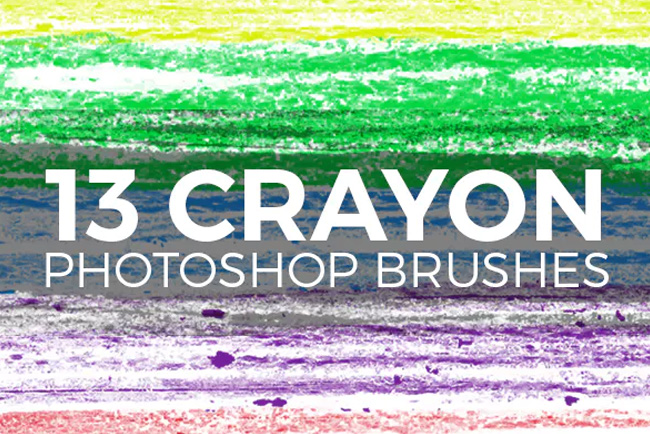 Crayon strokes