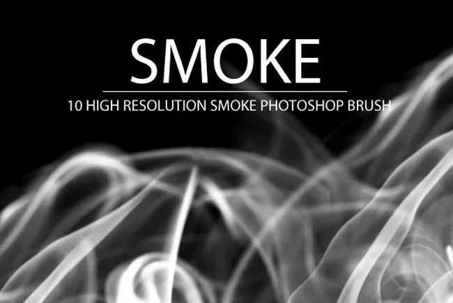 Smoke brush