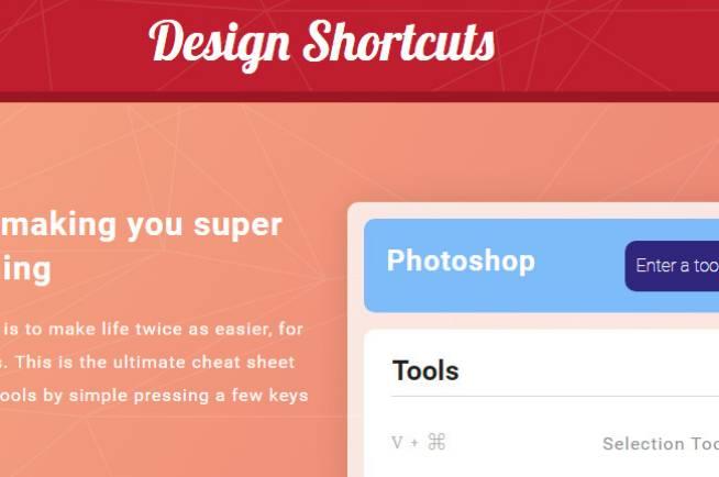 Design Shortcuts
