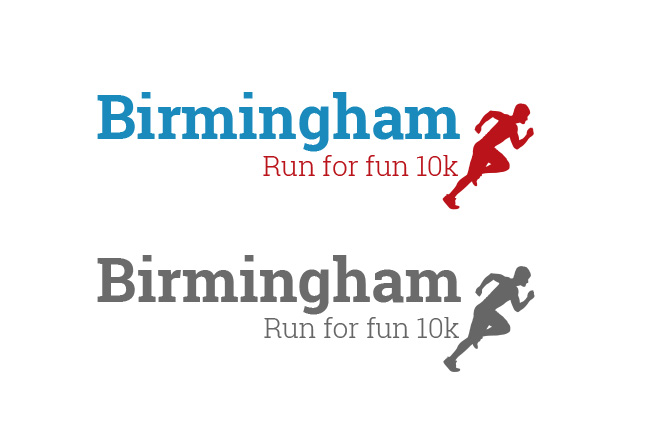 Birmingham Fun Run logo
