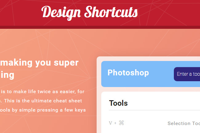 Design Shortcuts